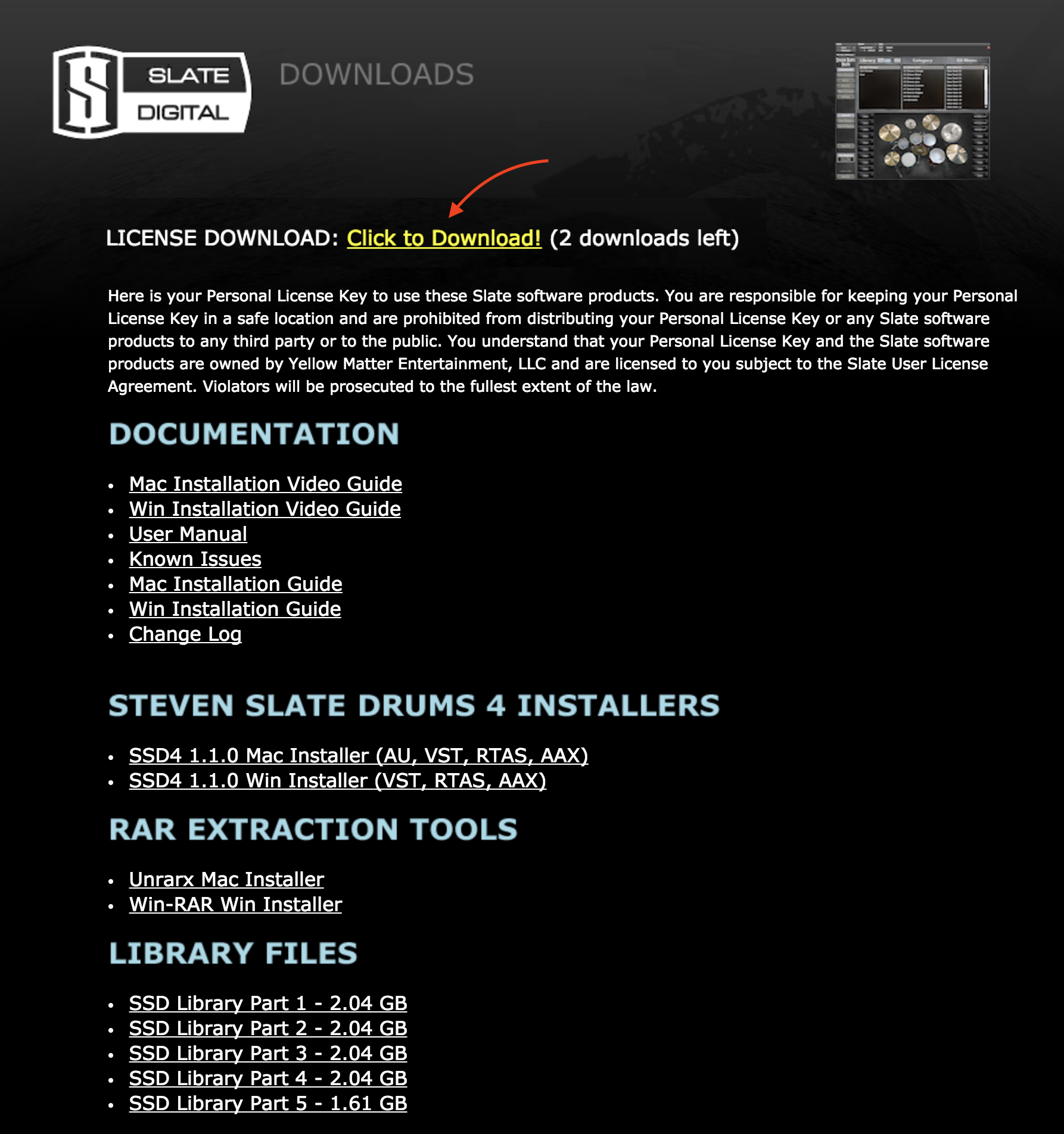 SSD4 Installation (Mac) – Steven Slate Drums